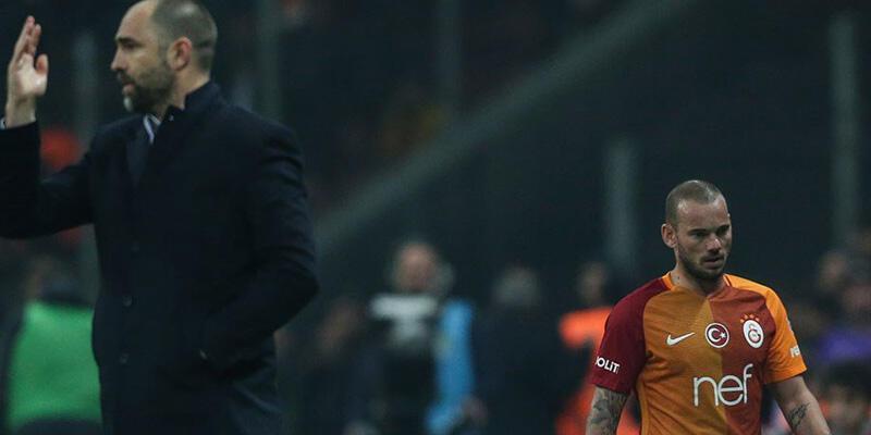 Kadroya alınmayan Sneijder idmana çıktı