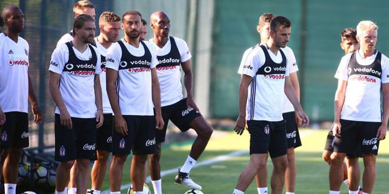 Beşiktaş idmanda yine eksik