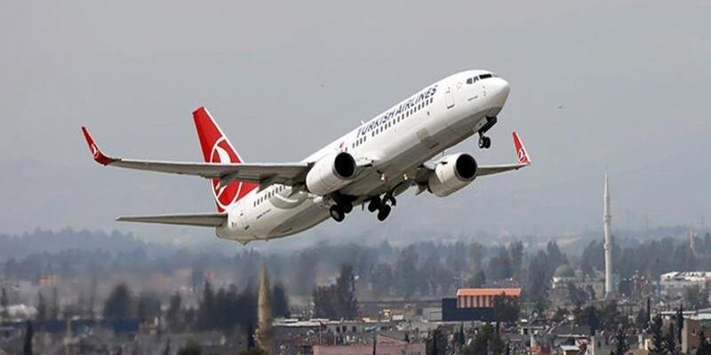 THY uçağında yolculara iki şok birden