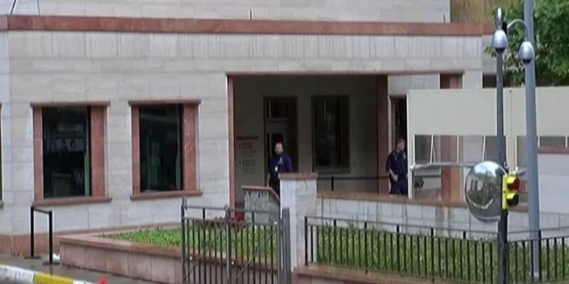 Son dakika... ABD Konsolosluğu'nun bahçesine atlayan kişi gözaltına alındı