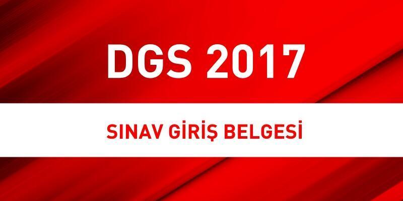 2017 DGS yerleri ÖSYM AİS giriş sayfasında açıklandı: 2017 DGS sınavı ne zaman?