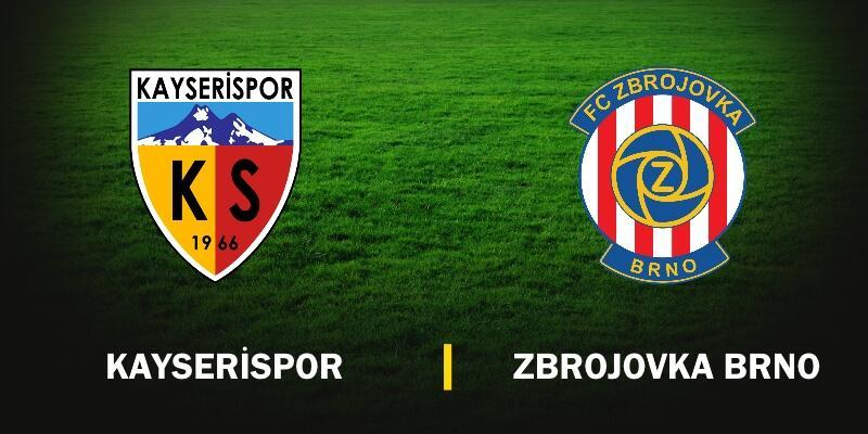 Canlı izle: Kayserispor-Zbrojovka Brno maçı hangi kanalda?