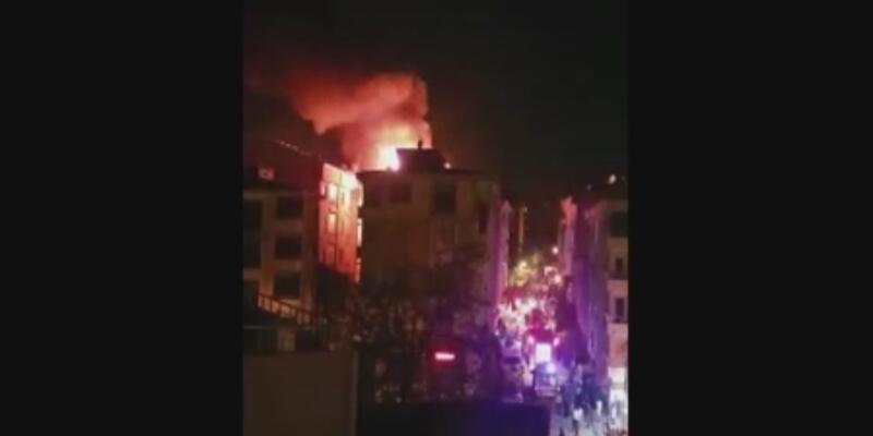 Son Dakika... İstanbul'da yangın paniği