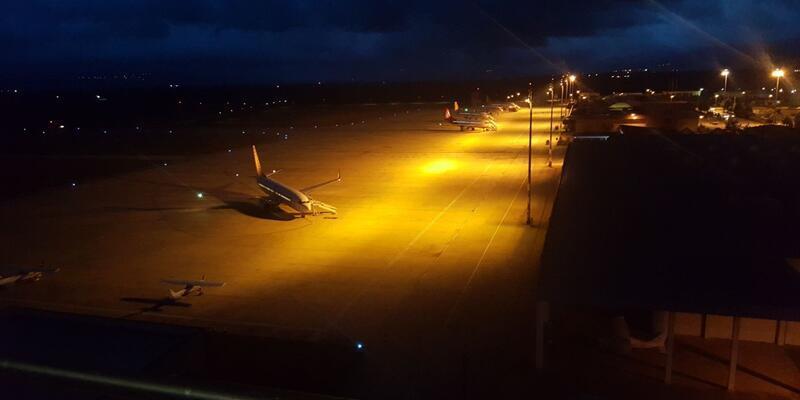 Bursa'ya inen uçaklar İstanbul'a havalanıyor