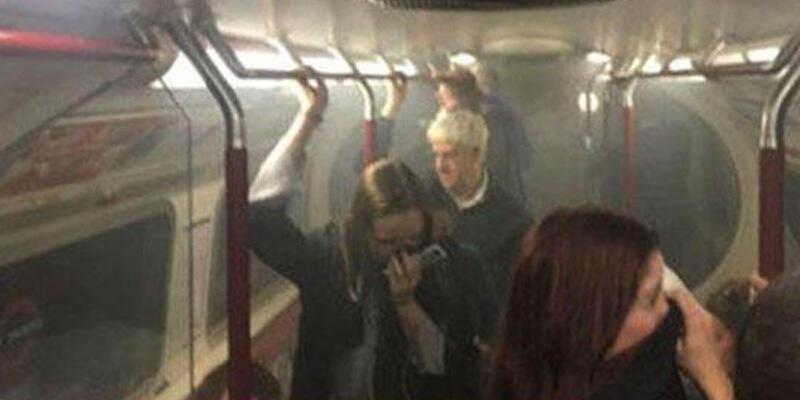 Londra metrosunda duman paniği