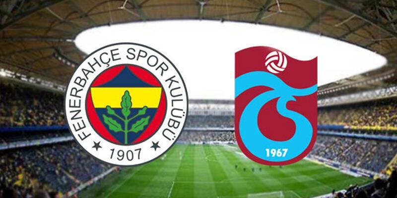 Fenerbahçe - Trabzonspor canlı yayın