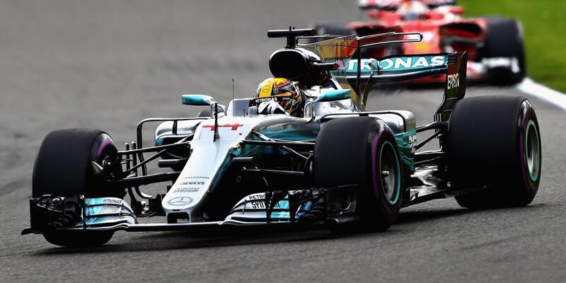 Belçika'da şampiyon Lewis Hamilton