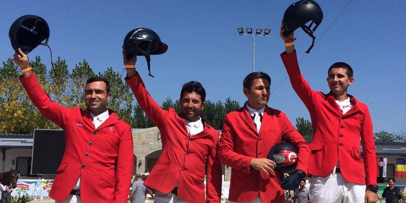 Binicilik Milli Takımı Balkan Şampiyonu oldu