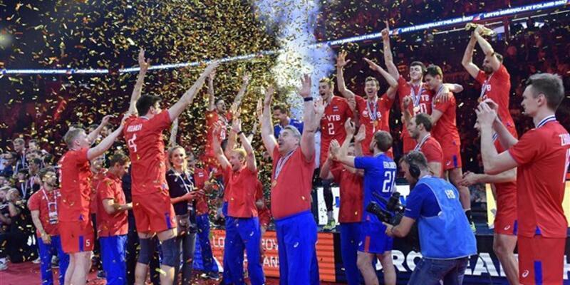 Rusya voleybolda Avrupa şampiyonu