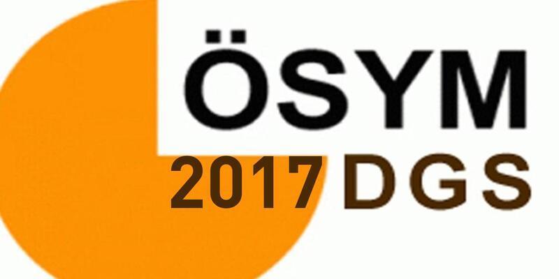 2017 DGS sonuçları ÖSYM'nin sonuç sorgulama adresinde yerini aldı