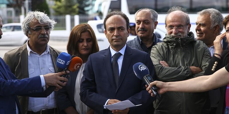 HDP'den AYM önünde basın açıklaması