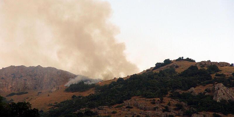 Tunceli'deki çatışmada 1 PKK'lı öldürüldü