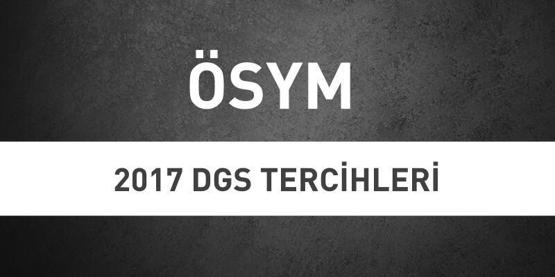 ÖSYM giriş sayfası: 2017 DGS tercihleri ne zaman başlıyor?