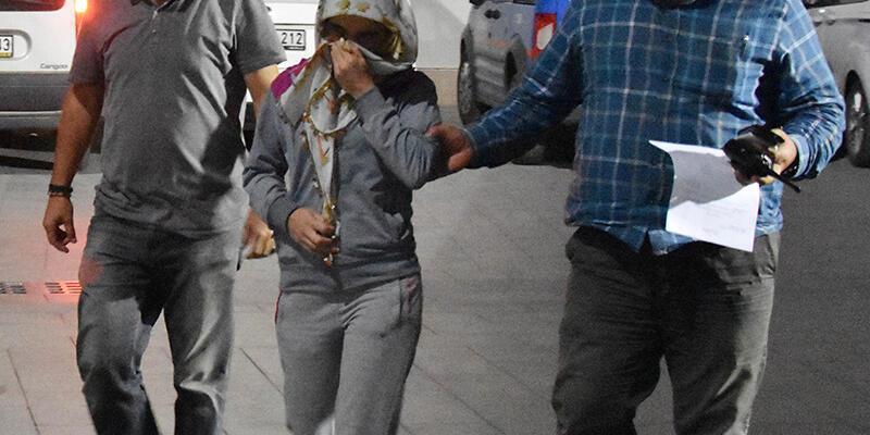 Suç makinası kadın yakalandı