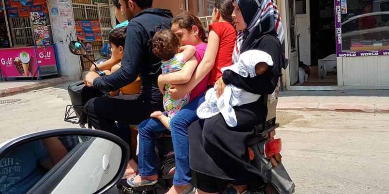 Suriyeli ailenin tehlikeli yolculuğu