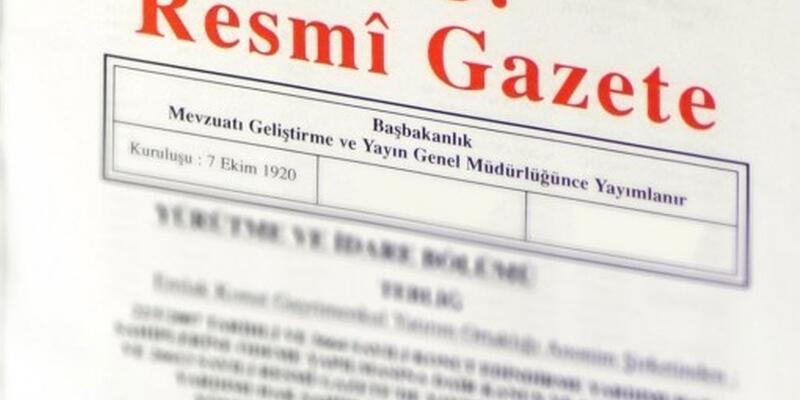 12 bakanlığa yapılan atamalar Resmi Gazete'de yayımlandı