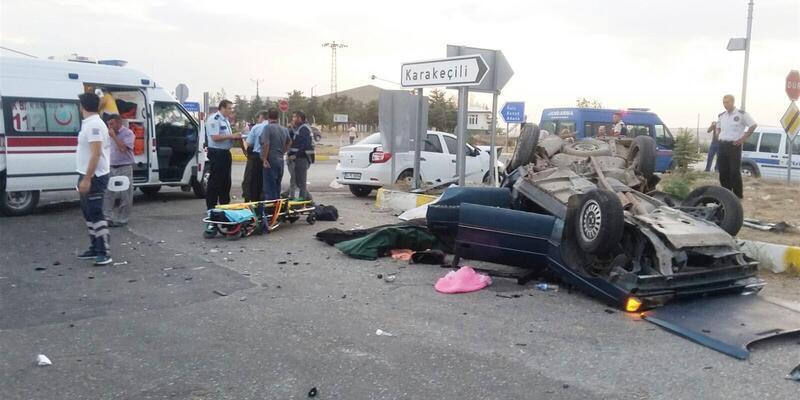 Kırıkkale'de feci kaza: 2 ölü, 4 yaralı