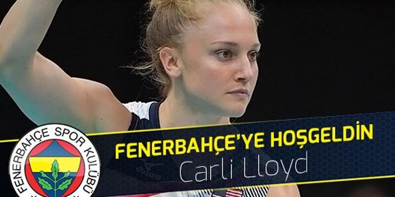 Fenerbahçe yeni transferi Carli Lloyd'un sözleşmesini feshetti