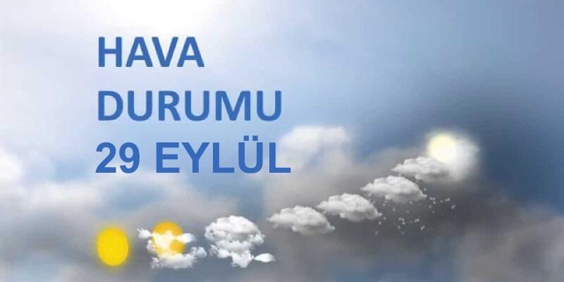 İstanbul hava durumu: Meteoroloji'den kuvvetli rüzgar uyarısı (29 Eylül)