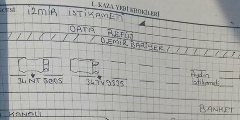 Türkiye'nin konuştuğu kaza böyle gerçekleşmiş!