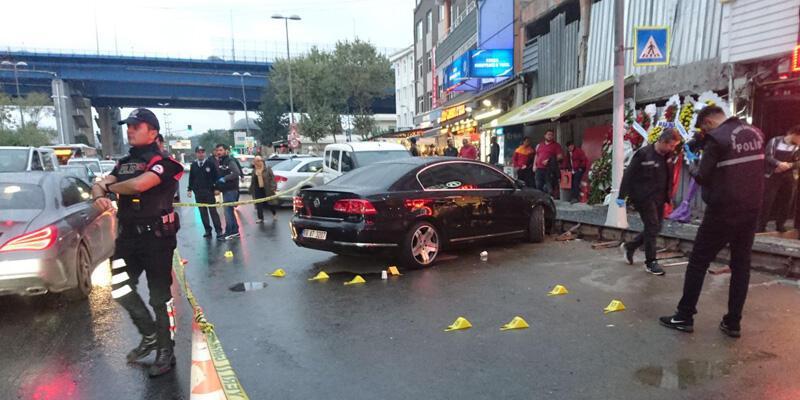 Beyoğlu'nda kafeye otomatik silahlı saldırı: 1 yaralı