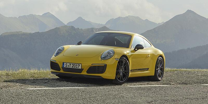 Porsche 911'e Carrera T dopingi