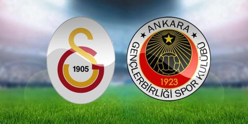 Galatasaray-Gençlerbirliği maçı muhtemel 11'leri