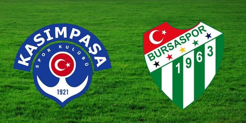 Canlı: Kasımpaşa-Bursaspor maçı izle | Süper Lig