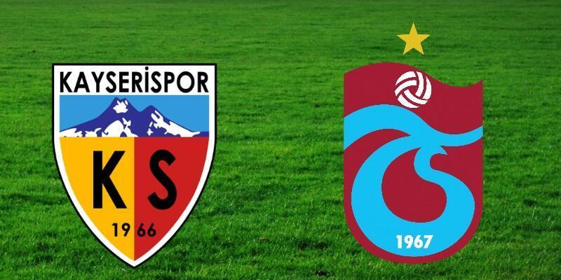 Canlı: Kayserispor-Trabzonspor maçı izle | Süper Lig