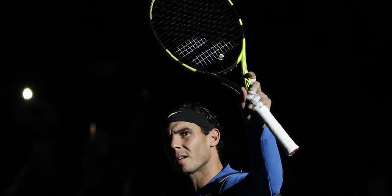 Son dakika Rafael Nadal Paris Masters'tan çekildi