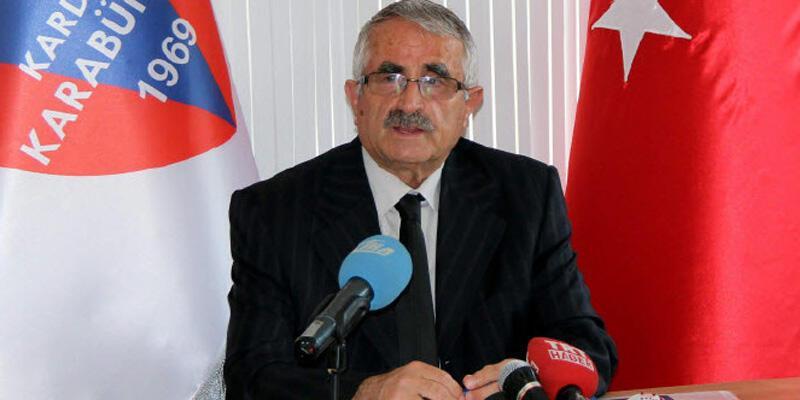 Kardemir Karabükspor'da başkan ve yönetim kurulu üyeleri istifa etti