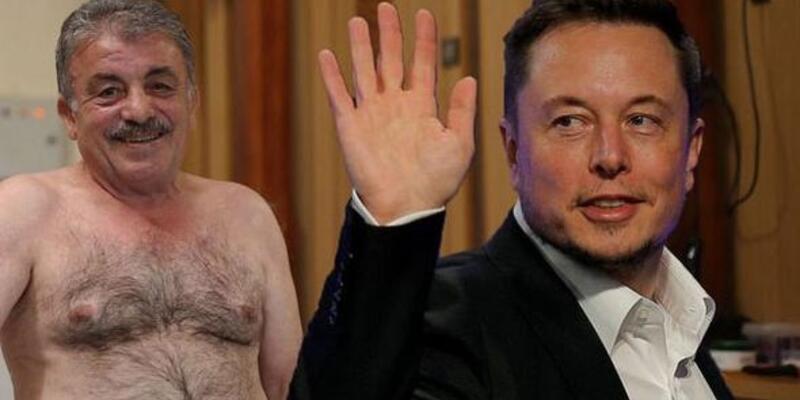 Elon Musk'ı keseledi, elektrikli araba istedi