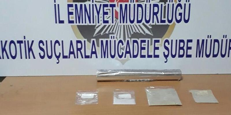 Kayseri'de eroin ve metamfetaminle yakalandılar: 5 gözaltı