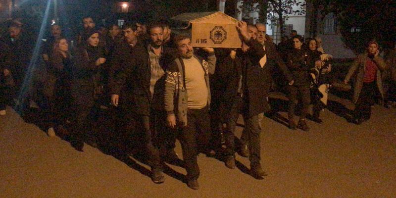 Şırnak'ta öldürülen PKK'nın üst düzey yöneticisi toprağa verildi
