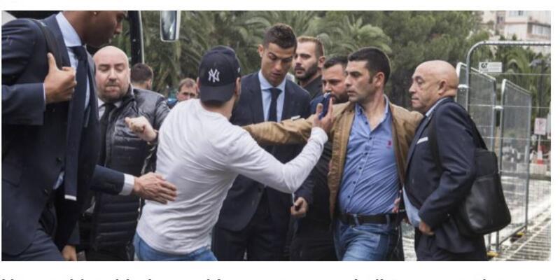 Kıbrıs Rum Kesimi'nde Cristiano Ronaldo skandalı