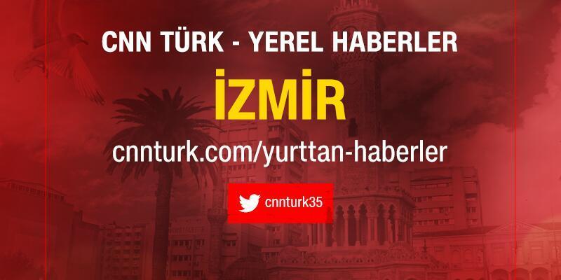İzmir'de yol kenarındaki otluk alanda yangın