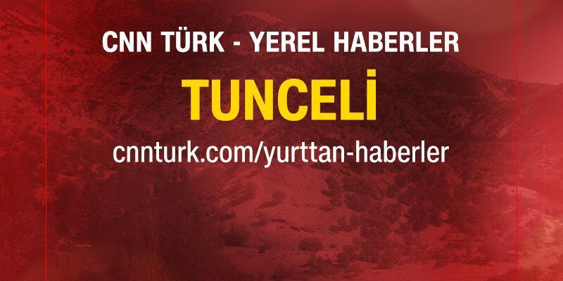 Bakanlık müfetişleri 2 şehit asker için Tunceli'de