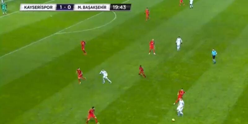 Kayserispor-Başakşehir canlı yayın