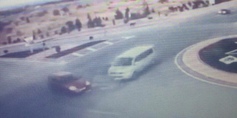 AK Parti heyetinin kaza anı, kamerada