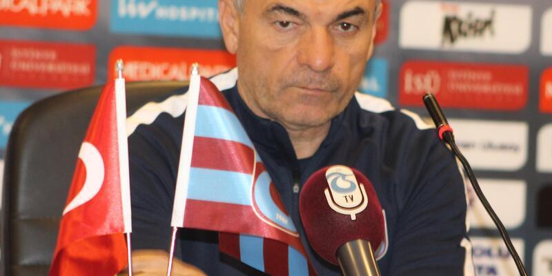 """Trabzonspor Teknik Direktörü Çalımbay: """"Devre arasından sonra tüm sorumluluk bende"""""""