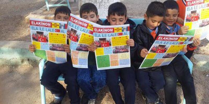 Nizip'te öğrencilerden okul gazetesi