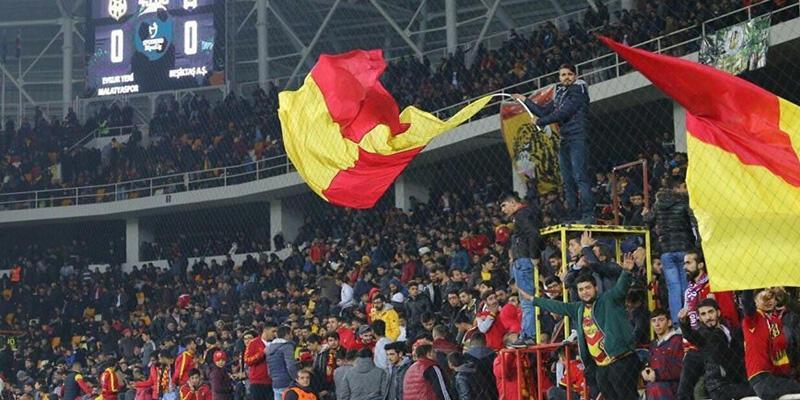 Yeni Malatyaspor - Beşiktaş maçında seyirci rekoru
