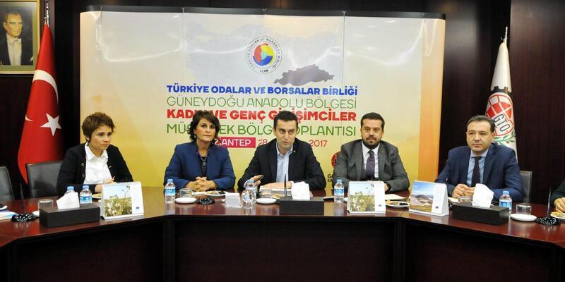 Genç ve kadın girişimciler Gaziantep'te toplandı