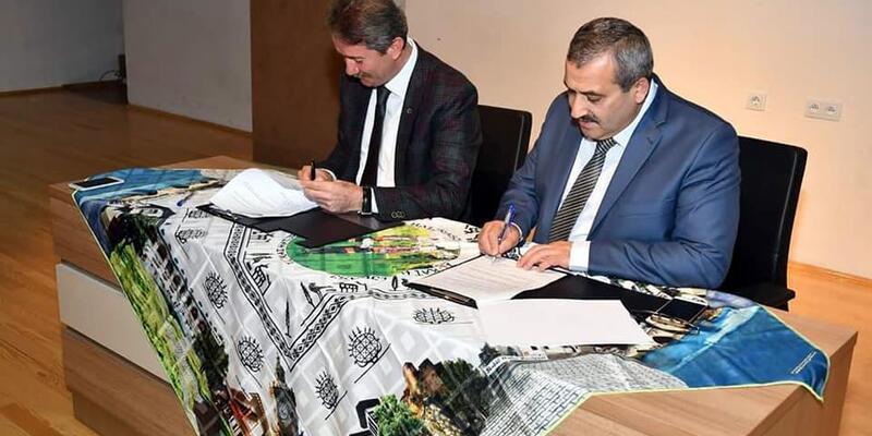 Tokat'ta 'Okulumda Spor Projesi' için imza töreni