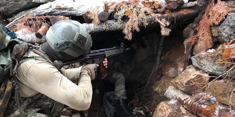 Jandarma, Amanoslardaki operasyon fotoğraflarını paylaştı