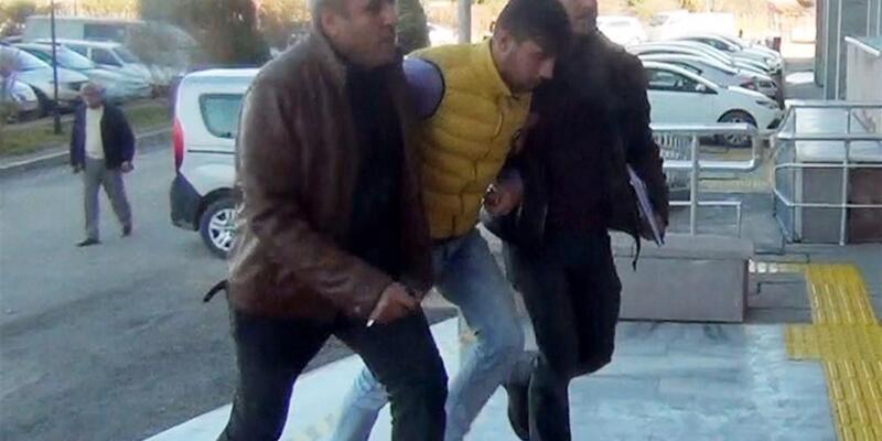 Yaşlı adamı gasp eden şahıs tutuklandı