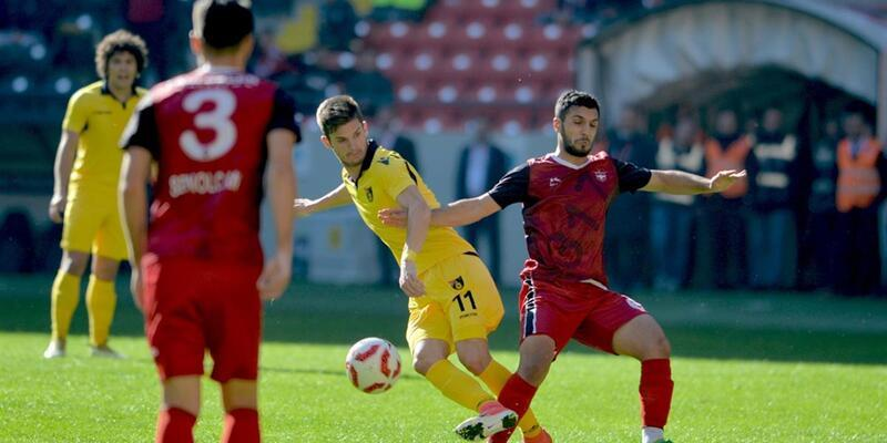 Gaziantepspor 1-1 İstanbulspor