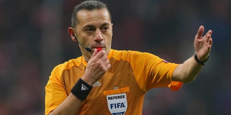Cüneyt Çakır, Bayern Münih - PSG maçını yönetecek