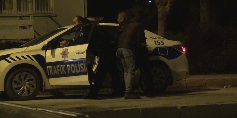 Polisin dur ihtarına uymayan araçtan polise ateş açıldı