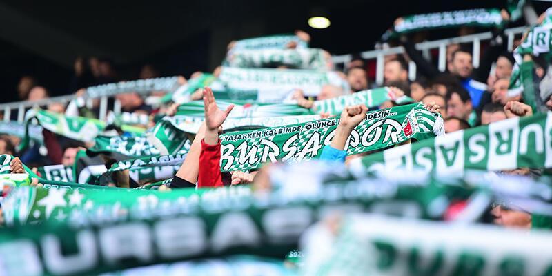 Bursaspor'da seyirci var hasılat yok!